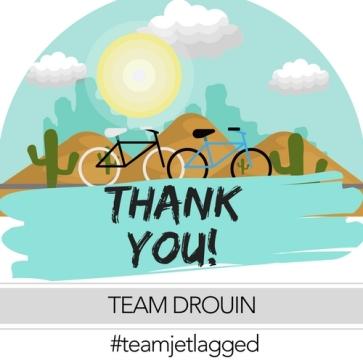 Team Drouin Thanks