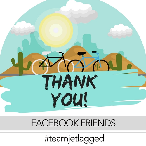 #teamjetlagged Facebook Friends ty